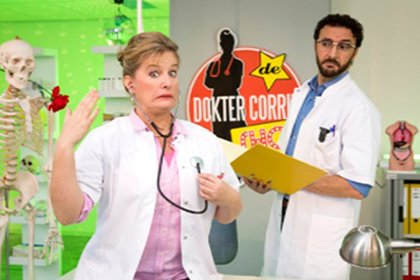 Nasrdin Dchar in nieuwe seizoen Dokter Corrie